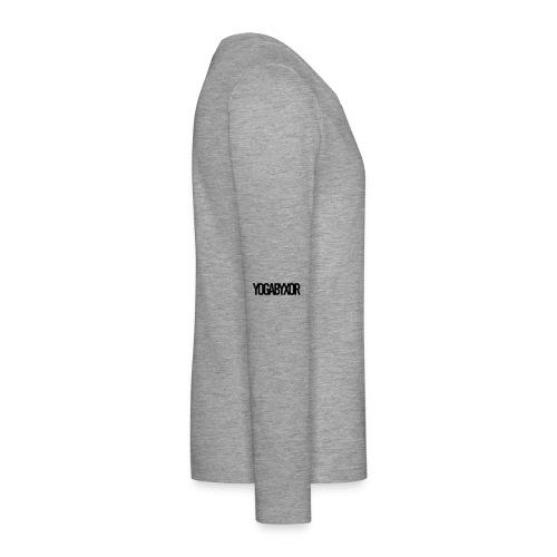 yogabyxor1 - Långärmad premium T-shirt tonåring