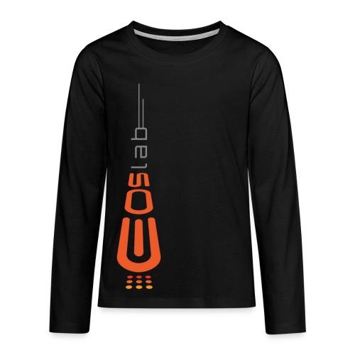 EOS Lab - Camiseta de manga larga premium adolescente