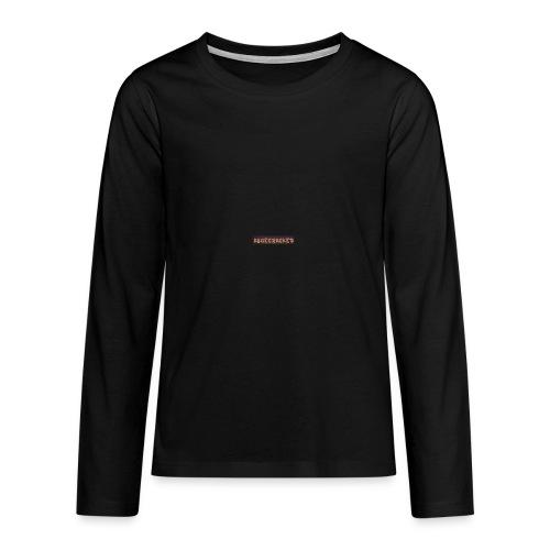 Abgecracked - Teenager Premium Langarmshirt