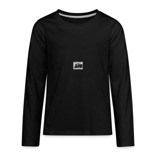 asap rocky - Långärmad premium T-shirt tonåring
