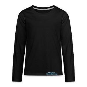 Orange Productions - Teenagers' Premium Longsleeve Shirt