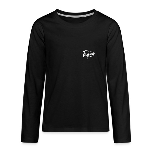 Radio Fugue Blanc - T-shirt manches longues Premium Ado