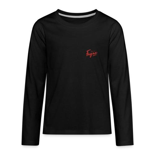 Radio Fugue Red - T-shirt manches longues Premium Ado