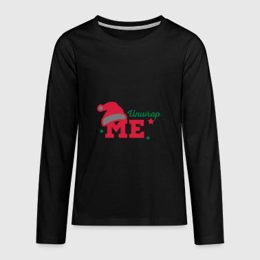 2541614 116122839 unwrap me - Teenagers' Premium Longsleeve Shirt