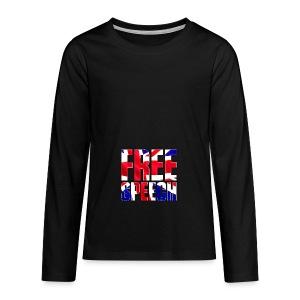 Free Speech UK Alt.1 - Teenagers' Premium Longsleeve Shirt