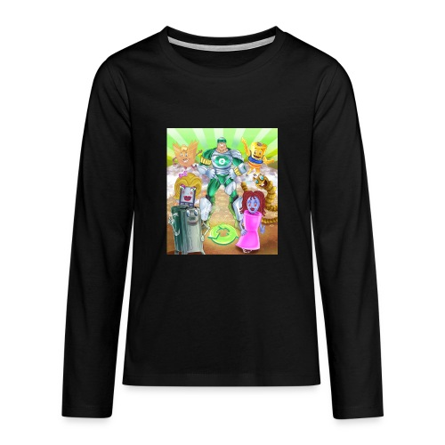 Captain Reece Icle - Teenagers' Premium Longsleeve Shirt