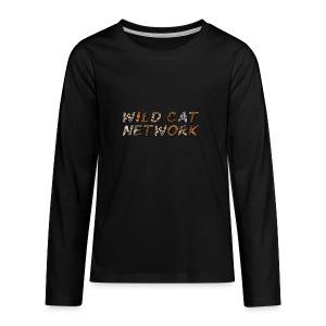 WildCatNetwork 1 - Teenager Premium Langarmshirt