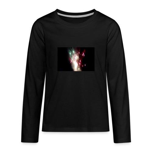 Feu D'artifice Fête Foraine Bischheim 2017 - T-shirt manches longues Premium Ado