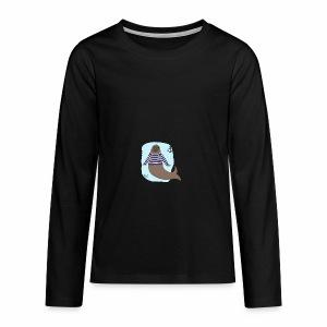 Seebär - Teenager Premium Langarmshirt