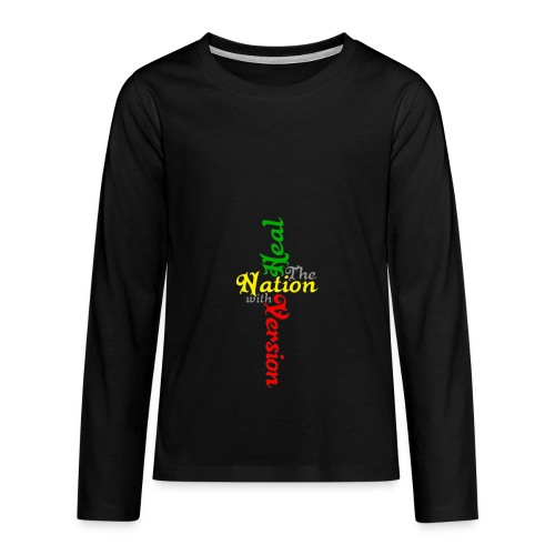Reggae Healing Gears - Teenagers' Premium Longsleeve Shirt