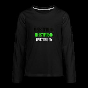 Retro Collections - Premium langermet T-skjorte for tenåringer