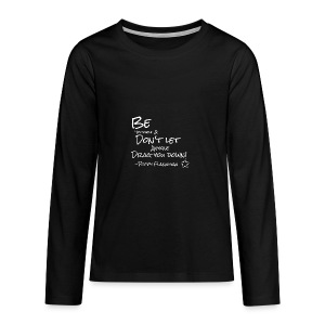 inspirational Quote from Poppy - Teenagers' Premium Longsleeve Shirt