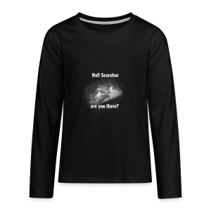 Searching For Hell Bag Black - Teenagers' Premium Longsleeve Shirt