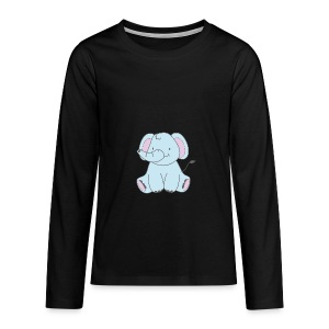 The Little Elephant - Teenagers' Premium Longsleeve Shirt