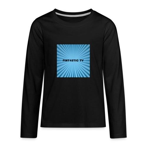 FINT4STIC Sunburst - Teenagers' Premium Longsleeve Shirt