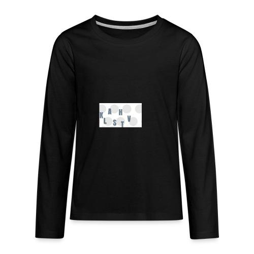 KLASHTV - Långärmad premium-T-shirt tonåring