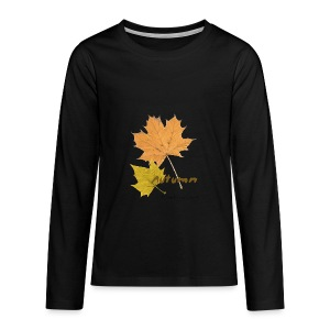 Streetworker art by Marcello Luce - autumn 2018 - Teenager Premium Langarmshirt