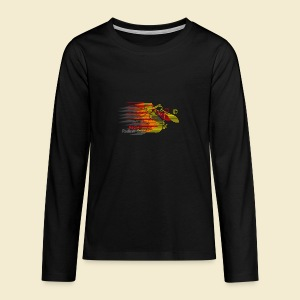 Radball | Earthquake Germany - Teenager Premium Langarmshirt