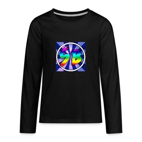 ScooterBros On Yt This Is Our Merch - Teenagers' Premium Longsleeve Shirt