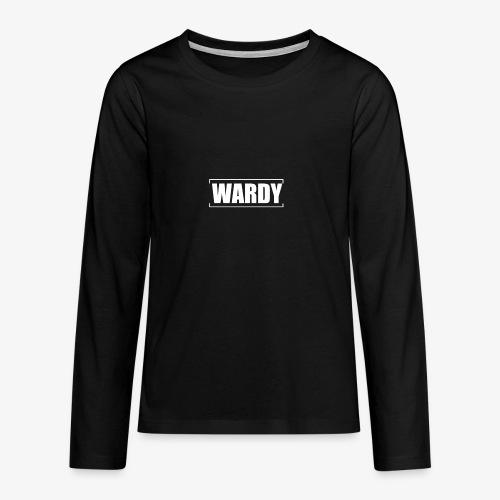 Wardy New Design - Teenagers' Premium Longsleeve Shirt