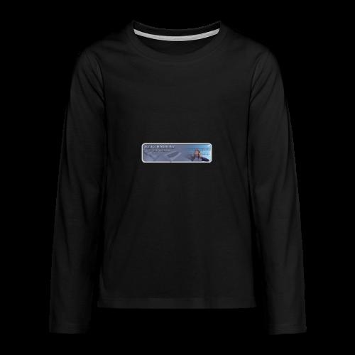 Radio PARALAX Classic-Logo - Teenager Premium Langarmshirt