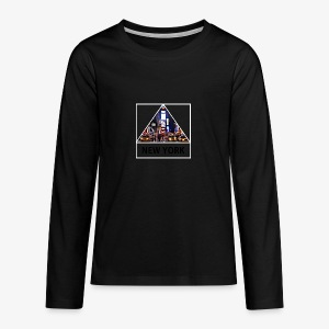 Triangle sur New York - T-shirt manches longues Premium Ado