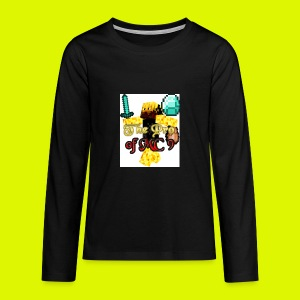 The Pro of MC 9 Profile Picture - Teenagers' Premium Longsleeve Shirt
