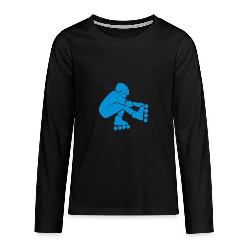 roller lois tee shirt - T-shirt manches longues Premium Ado