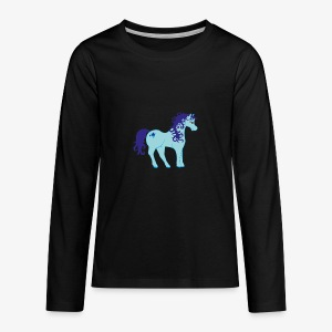 Einhorn ohne Horn ;) - Teenager Premium Langarmshirt