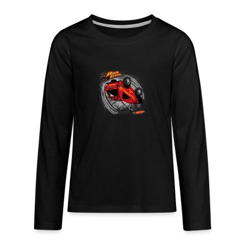 RollGolf - Teenager Premium shirt met lange mouwen