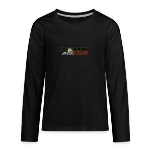 Tribal Judah Gears - Teenagers' Premium Longsleeve Shirt