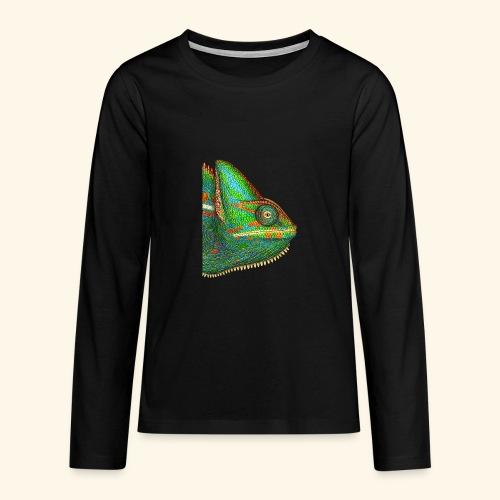 Chamäleon - Teenager Premium Langarmshirt