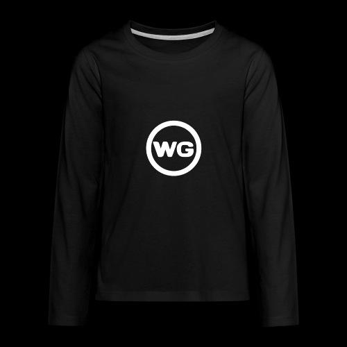 wout games - Teenager Premium shirt met lange mouwen