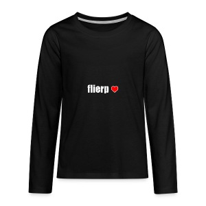 I love Flierp - Teenager Premium shirt met lange mouwen