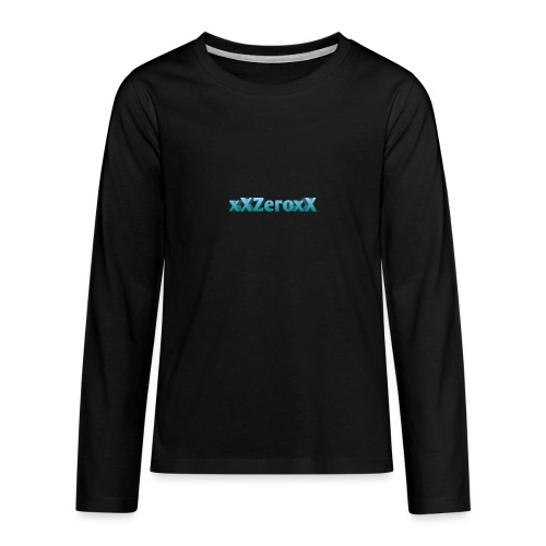 xXZeroxX Merch - Teenager Premium Langarmshirt