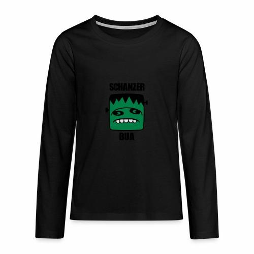 Fonster Schanzer Bua - Teenager Premium Langarmshirt