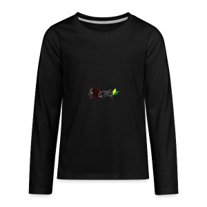 I Love JDM - Teenagers' Premium Longsleeve Shirt