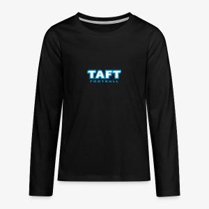 4769739 124019410 TAFT Football orig - Teinien premium pitkähihainen t-paita
