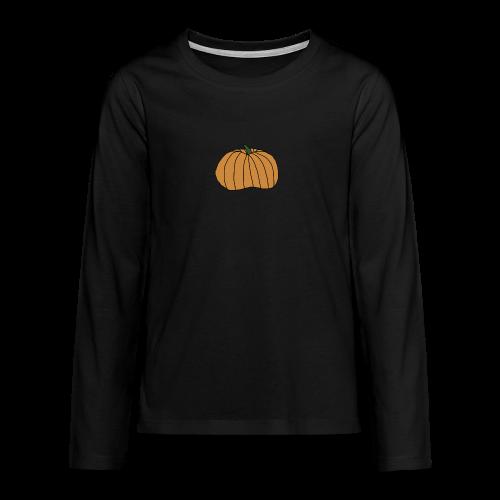 Gresskar Halloween Collection - Premium langermet T-skjorte for tenåringer