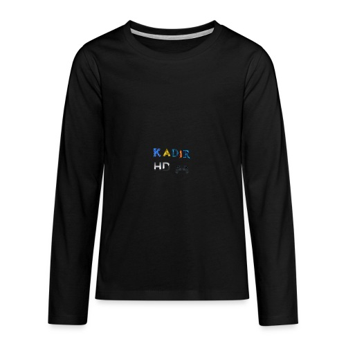 Kadir HD Pullover - Teenager Premium Langarmshirt