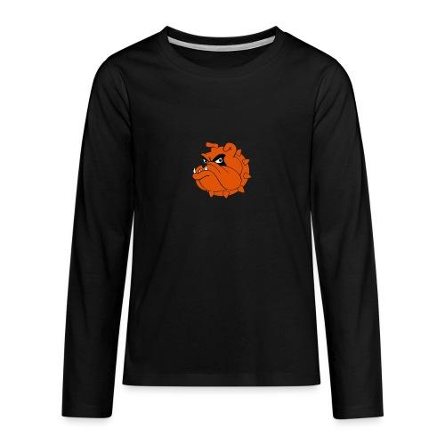 Bulldog Héros Animés - T-shirt manches longues Premium Ado