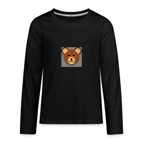 ourson bébé - T-shirt manches longues Premium Ado