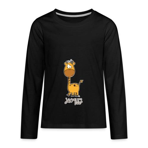 JACQUES Giraff - Teenager Premium Langarmshirt