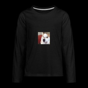 dog - Teenagers' Premium Longsleeve Shirt