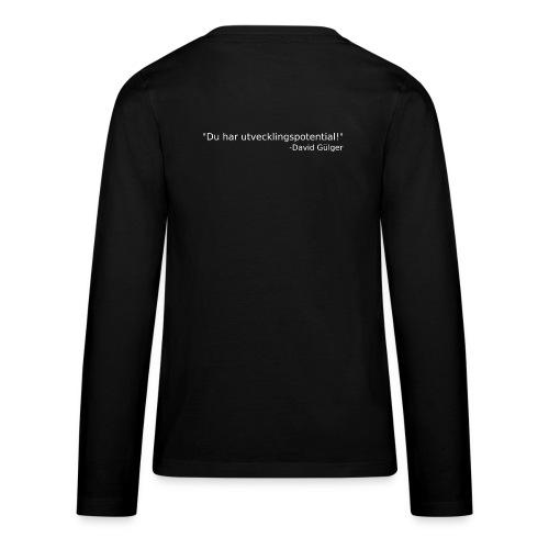 Ju jutsu kai förslag 1 version 1 vit text - Långärmad premium-T-shirt tonåring