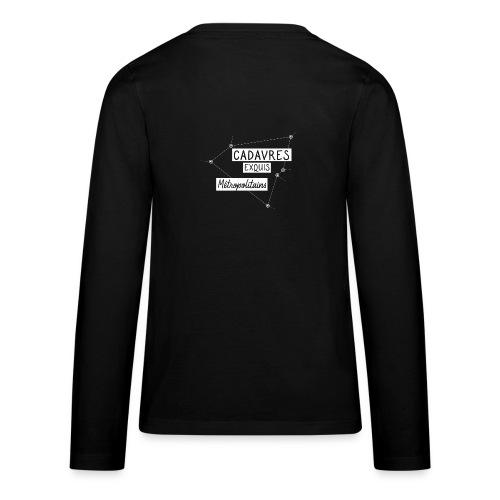 Cadavres Exquis Métropolitains - T-shirt manches longues Premium Ado