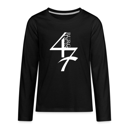 Duisburg 47 - Teenager Premium Langarmshirt