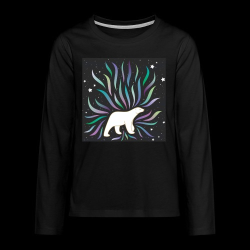 polar ours - T-shirt manches longues Premium Ado