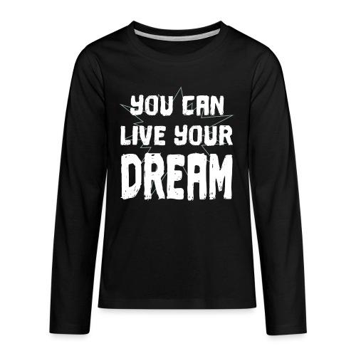LIMITIERT - Motivation ERFOLG - Teenager Premium Langarmshirt