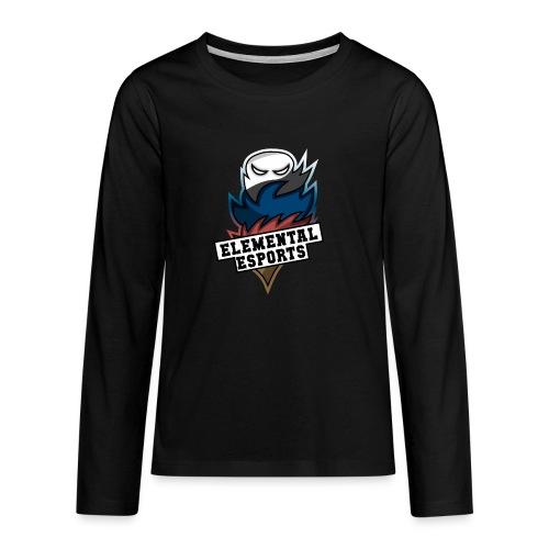 Elemental eSports   2018 Logo - Teenager premium T-shirt med lange ærmer
